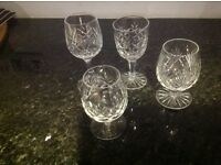 Various Crystal glasses.. various ones all VGC