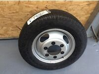 Mitsubishi canter new wheel & tyre 205/70r15c. £80.00