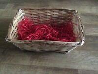 Small hamper basket