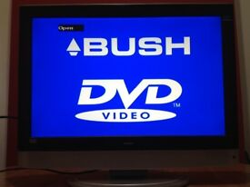 Bush 22 inch HD LCD TV Built in DVD Player, Freeview, Great condition