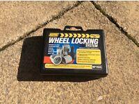 Trailer wheel locking nuts