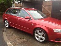 Audi A4 avant s-line. Low mileage.