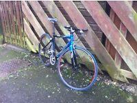 Mens giant fcr hybrid road bike for sale.