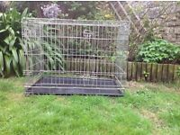 Large Savic Dog Crate - used but in excellent condition
