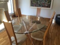 Zanotta Dining table and chairs