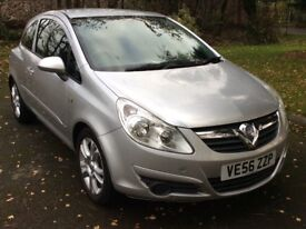 Vauxhall Corsa 1.2i 16v Club Low mileage Cheap insurance