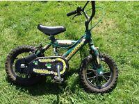"""Boys 12"""" wheel bike"""