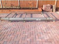 2 X TrukRax Roofrack for SWB Vauxhall Vivaro