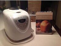 COOKWORKS BREADMAKER MACHINE WITH FLIP TOP RECIPE BOOK