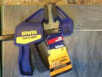 """Ran 300mm/12"""" quick release clamp"""