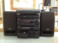 Aiwa stacking stereo system