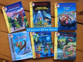 Children's books in French