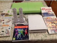 Nintendo wii 7 video games and consoles