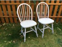 A PAIR OF SCATTER CHAIRS