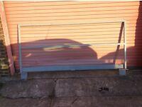 Steel safety barrier
