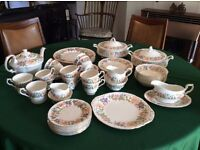 Pretty china by Paragon - Country Lane - no damage and unused.