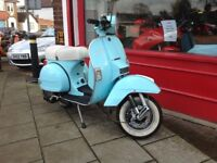 LML 125 star 2 stroke manual 4 speed same as piaggio vespa px 125 delivery available 12 months mot