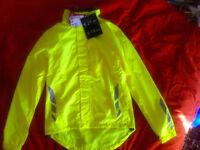 Mens Crane cycling rain bike jacket, size M