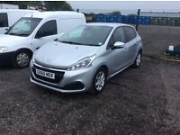 Peugeot 208 only 7900 miles starts drives perfect cat c