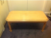 **BARGAIN** Light Oak Coffee Table *GREAT CONDITION*