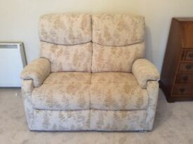 Two seater sofa 2 fixed seats