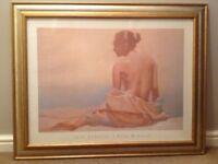 Silk Komono framed print