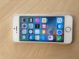 Fresh IPhone 5s silver 16 gb