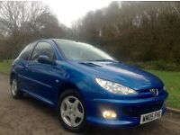 Peugeot 206 year 2005 1.1cc new mot (February 2018) 2 owners from new just had full service