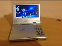PHILIPS PET 700 PORTABLE DVD PLAYER