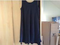 Navy Dress Size 16 M&S