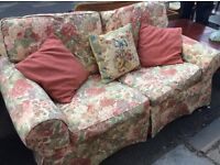 2 Seater Sofa Bed / spotlessly clean : free Glasgow delivery