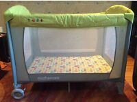 Travel cot/day bed/playpen (Mothercare)