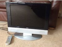 "19"" HD ready Digital LCD Freeview TV/DVD"