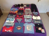Bundle of boy's clothes & shoes - age 4-5 years