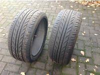 Pair of tyres 225/45