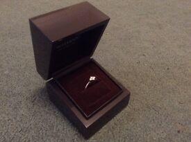 Stunning 9 ct White Gold Diamond Cluster Ring