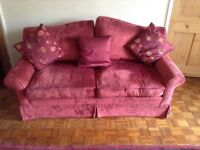 Red 3 piece good condition