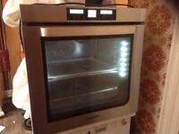 Oven,stainless steel,fitted with two oven fans,£95.00
