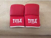title adults boxing mitt