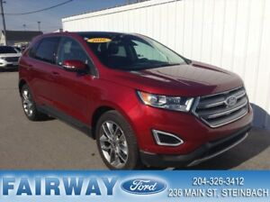 2016 Ford Edge Titanium - AWD Leather Navigation Pano Roof
