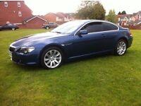 BMW 645CI 4.4 V8 COUPE AUTO MYSTIC BLUE 645*PAN ROOF* 12 MONTHS MOT (630,650,745,cl500,635d,s500)