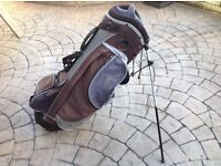 Hippo Double Strap Carry Stand Golf Bag
