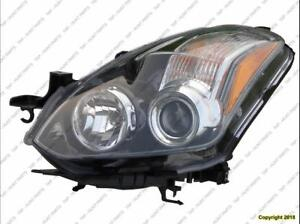 Head Light Driver Side Coupe Halogen High Quality Nissan ALTIMA 2010-2013