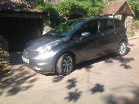 64 Nissan Note Tekna Petrol DIG-S CavT FSH, MOT, low mileage, low tax, auto,
