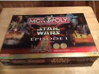 Star Wars monopoly, episode 1. Complete.