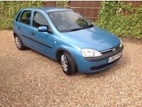 Vauxhall CORSA club 1.2 petrol 5 door hatchback