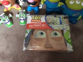 Toy Story Bed Sheets, Decor items, Toys