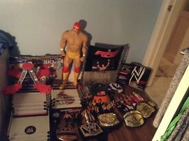 WWE WRESTLING UNLIMITED STUFF FOR SALE UNLIMITED AMOUNT OF FIGURES PLUS RINGS, BELTS, ETC
