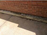300x14x19cm concrete lintel
