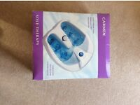 Carmen sole therapy foot spa unused still in sealed box collection only tel. 07788691135 Dunmow